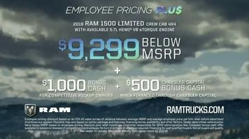 Ram Trucks Black Friday Sales Event TV Spot, 'Employee Pricing Plus' [T2] - Thumbnail 8