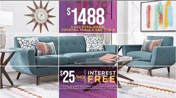 Rooms to Go Holiday Sale TV Spot, 'Perfect Look: Furniture Sets' - Thumbnail 5