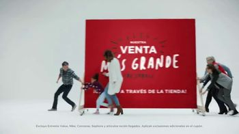 JCPenney Venta Más Grande de Todas TV Spot, 'Abrigos, camisas y freidora' [Spanish] - 321 commercial airings