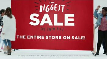 JCPenney Biggest Sale of All TV Spot, 'Come In, Save Big'