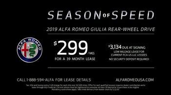 Alfa Romeo Season of Speed TV Spot, '6 Underground: Perfect' [T2] - Thumbnail 8