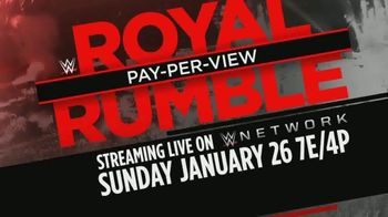 WWE Network TV Spot, '2020 Royal Rumble' [Spanish] - 2 commercial airings