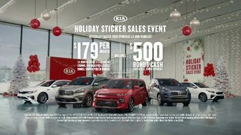 Kia Holiday Sticker Sales Event TV Spot, 'Look for a Sticker' [T2] - 3389 commercial airings