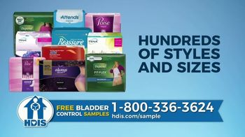 HDIS TV Spot, 'Bladder Control Issues: One in Three Women' - Thumbnail 3