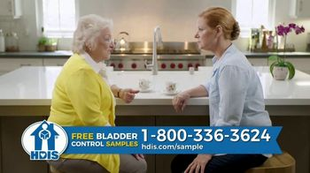 HDIS TV Spot, 'Bladder Control Issues: One in Three Women' - Thumbnail 4