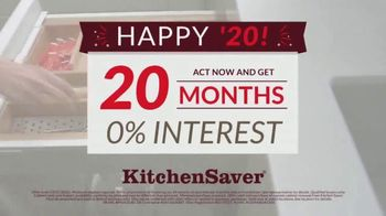 Kitchen Saver TV Spot, 'New Year's: 20 Months, Zero Interest' - Thumbnail 3