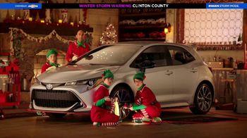 Toyota Toyotathon TV Spot, 'Santa's Elves' [T2] - 63 commercial airings