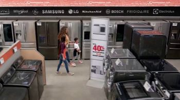 The Home Depot TV Spot, 'Samsung White Top Load Laundry Pair' - Thumbnail 3