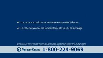 Mutual of Omaha TV Spot, 'Llama ahora' [Spanish] - Thumbnail 4