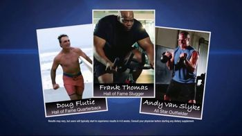 Nugenix Total-T TV Spot, 'Legendary Athletes' Featuring Doug Flutie, Frank Thomas, Andy Van Slyke - 11 commercial airings