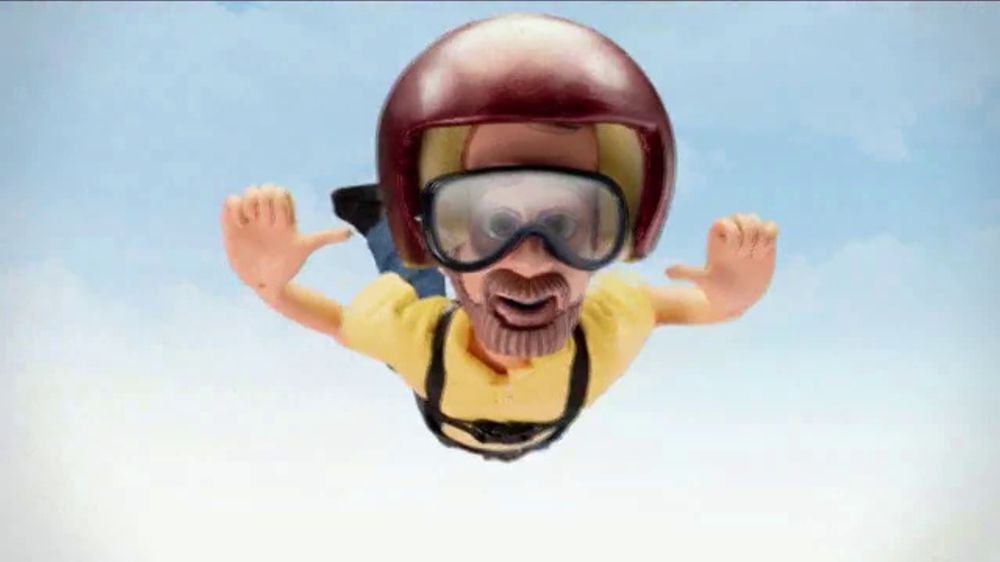 Bob's Discount Furniture TV Commercial, 'Little Bob Skydiving'