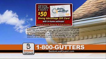 Beldon LeafGuard TV Spot, 'Clogged Gutters: 10 Percent Rebate' - Thumbnail 9