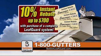 Beldon LeafGuard TV Spot, 'Clogged Gutters: 10 Percent Rebate' - Thumbnail 6