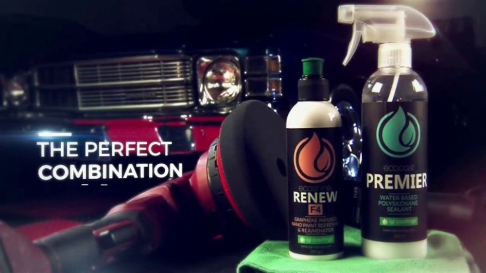IGL Coatings Renew F4 TV Commercial, 'Painted Surfaces'