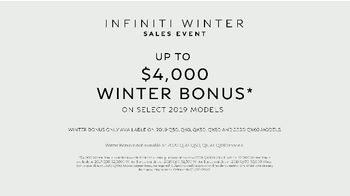 Infiniti Winter Sales Event TV Spot, 'Snow and Surf' Song by Hannah Williams & The Affirmations [T2] - Thumbnail 7
