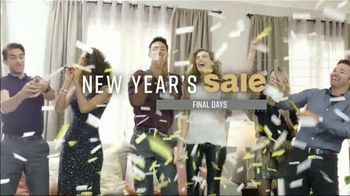 Ashley HomeStore New Year's Mattress Sale TV Spot, 'Final Days: Save $200 or 0% Interest' Song by Midnight Riot - Thumbnail 1
