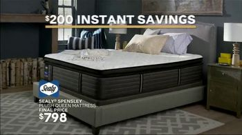 Ashley HomeStore New Year's Mattress Sale TV Spot, 'Final Days: Save $200 or 0% Interest' Song by Midnight Riot - Thumbnail 2