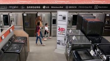 The Home Depot TV Spot, ' Samsung Kitchen Package: 40 Percent Off' - Thumbnail 3