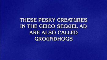 GEICO TV Spot, 'Jeopardy!: Woodchucks'