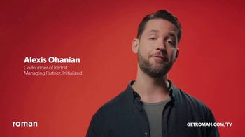 Roman TV Spot, 'Fatherhood' Featuring Alexis Ohanian - Thumbnail 5