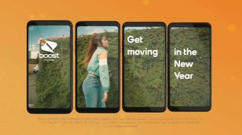 Boost Mobile TV Spot, 'Get Moving' Song by Pitbull