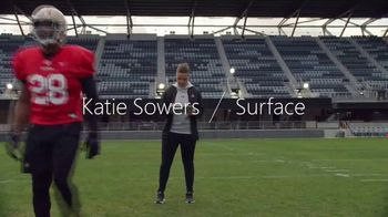 Microsoft Surface Pro 7 TV Spot, 'Your Dream Is Coming: No Offer' Featuring Katie Sowers - Thumbnail 4