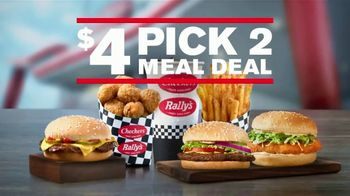 Checkers & Rally's $4 Pick 2 Meal Deal TV Spot, 'With Fries and a Drink' - Thumbnail 8