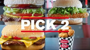 Checkers & Rally's $4 Pick 2 Meal Deal TV Spot, 'With Fries and a Drink' - Thumbnail 3