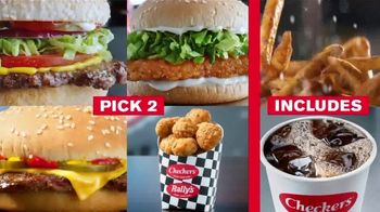 Checkers & Rally's $4 Pick 2 Meal Deal TV Spot, 'With Fries and a Drink' - Thumbnail 7