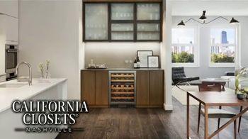 California Closets New Year's Offer TV Spot, 'Any Room' - Thumbnail 6