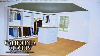 California Closets New Year's Offer TV Spot, 'Any Room' - Thumbnail 9
