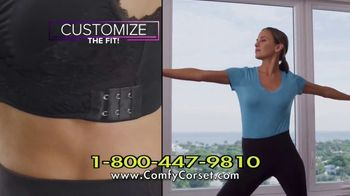 Comfy Corset TV Spot, 'A Bra That Does It All' Featuring Taylor Baldwin - Thumbnail 7