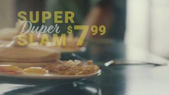 Denny's Super Duper Slam TV Spot, 'Super Duper New Year'