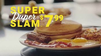 Denny's Super Duper Slam TV Spot, 'Super Duper New Year' - Thumbnail 2