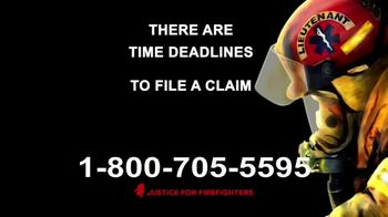 AVA Law Group, Inc TV Spot, 'Justice for Firefighters' - Thumbnail 8
