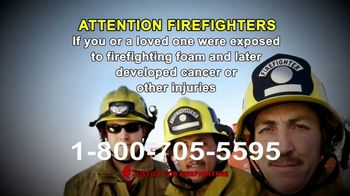 AVA Law Group, Inc TV Spot, 'Justice for Firefighters' - Thumbnail 1