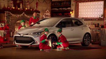 Toyota Toyotathon TV Spot, 'Santa's Elves' [T1] - 111 commercial airings