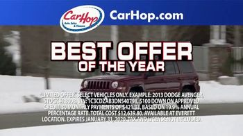 CarHop Auto Sales & Finance TV Spot, 'Get Approved With $100 Down' - Thumbnail 4