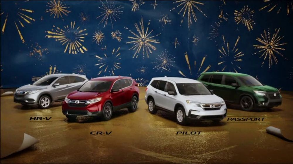 Happy Honda Days TV Commercial, 'Unwrap the Joy: SUVs' Song by Earth, Wind and Fire [T2]