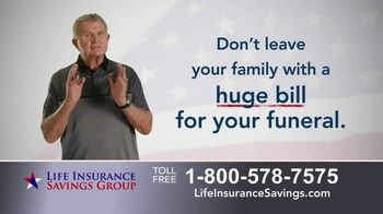 Life Insurance Savings Group TV Spot, 'Funeral Expenses and Debt' Featuring Mike Ditka - Thumbnail 8