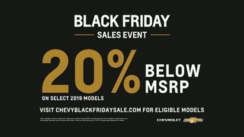 Chevrolet Black Friday Sales Event TV Spot, 'Lots to Love' [T2] - Thumbnail 7
