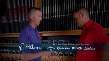 Club Champion TV Spot, 'Free Advice: Club Fitting' Featuring David Leadbetter - Thumbnail 4
