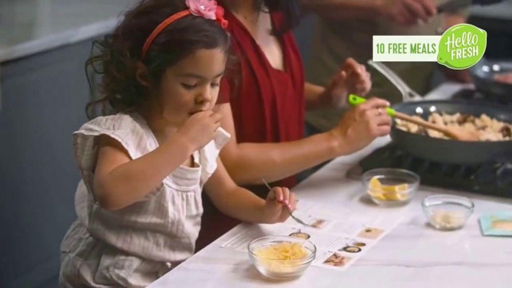 HelloFresh TV Commercial, 'Monica, Matt and Olive: 10 Free Meals'