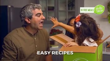 HelloFresh TV Spot, 'Monica, Matt and Olive: 10 Free Meals' - Thumbnail 3