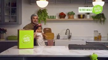 HelloFresh TV Spot, 'Monica, Matt and Olive: 10 Free Meals' - Thumbnail 4