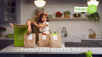 HelloFresh TV Spot, 'Monica, Matt and Olive: 10 Free Meals' - Thumbnail 5