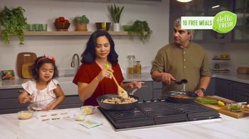 HelloFresh TV Spot, 'Monica, Matt and Olive: 10 Free Meals' - Thumbnail 6
