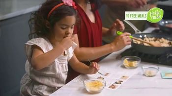 HelloFresh TV Spot, 'Monica, Matt and Olive: 10 Free Meals' - Thumbnail 7