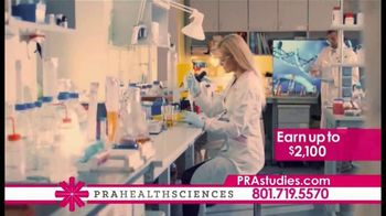 PRA Health Sciences TV Spot, 'Clinical Research Study: Earn up to $2,100' - Thumbnail 2