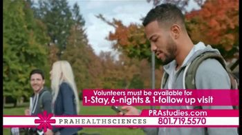 PRA Health Sciences TV Spot, 'Clinical Research Study: Earn up to $2,100' - Thumbnail 5